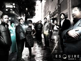 ESQUIRE HEROES by vherand