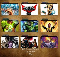 DC Comics Folder Icons 5 by 3o1415
