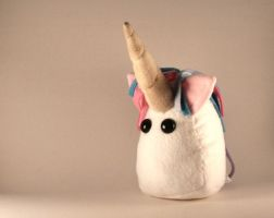 unicorn plushie by Saint-Angel