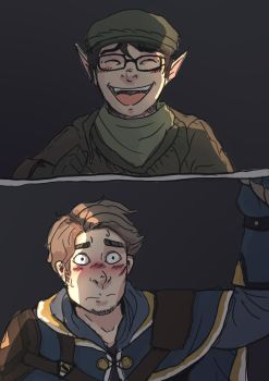 Some DnD Comic by ghastlyTypist