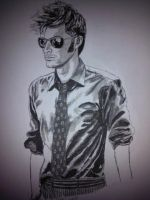 David Tennant aka The Doctor by V00Gray