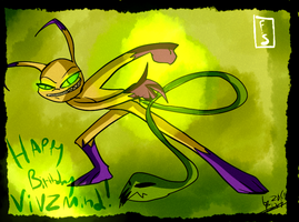 Happy Birthday Vivzmind! by Freakly-Show