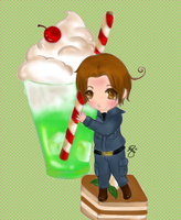 Hetalia Cafe:Italy by iCanadianBacon