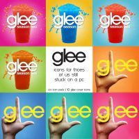 Glee Cover Icons by lessink