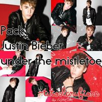 Justin Bieber Under the mistletoe PACK by tutosLaruFiore