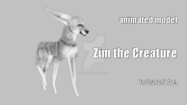 Zim the creature by Bad-V-i-b-e-s