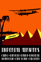 Imperial Airways I (Vector) by DecoEchoes