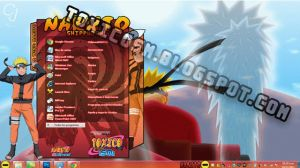 Tema Windows 7: NARUTO by ToxicoSM