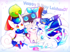 Happy B.Day Leishaxd! by Natx-chan