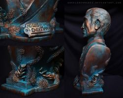 Andrew Ryan Sculpture - Details by AngelaBermudez