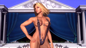 Sgt. Clemets Queens Match Pose by TheRumbleRoseNetwork