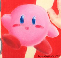 SP: Kirby Closeup by JessySketches