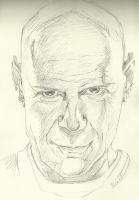 Bruce Willis by SheenaBeresford
