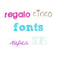 5 fonts by taylorssbyana