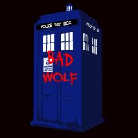 Bad Wolf (T-Shirt Design) by EAMS81