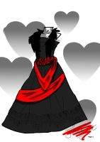 Dress design 2 Gothic? by FEARxxMYxxFANGS