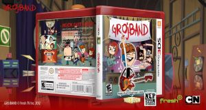 Grojband 3DS Box Cover by ETSChannel
