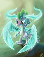 Spike, Spirit Dragon by MPL52293