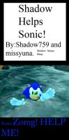 Shadow Helps Sonic The Hedgehog Meme by shadow759