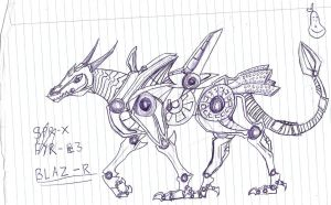 Slugterra OC Mecha (WIP) by Hills-to-Sky