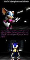 Sonic The Hedgehog Reminiscent Six Preview by shadow759