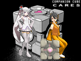 The Girls of Aperture Science by GreenAppleIzze