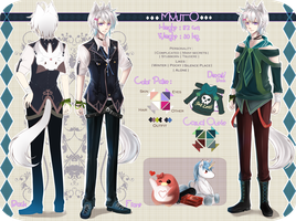..:: Myuto : [ Reference Sheet] ::.. by mio-chii