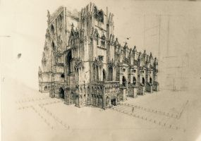 Canterbury cathedral more progress by hipple25