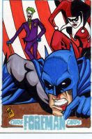 Batman vs Joker vs Harley PSC by chris-foreman