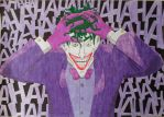 The birth of the clown prince of crime... by MrSoniccloud