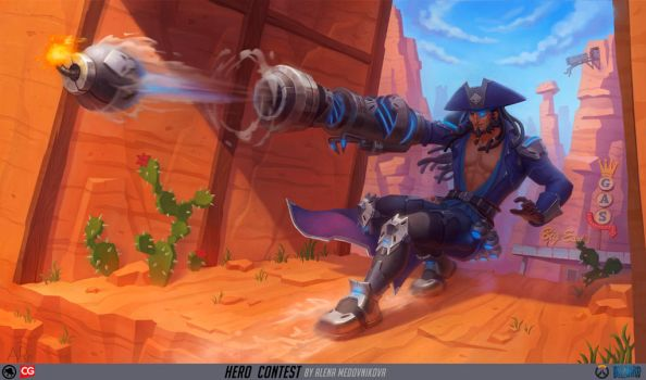 Drake for Overwatch by Anhel1310