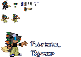 .:PC:. Fletcher Revamp by GhosttheHedgehog12