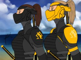 Stealth and Battle Armor by Blasian89