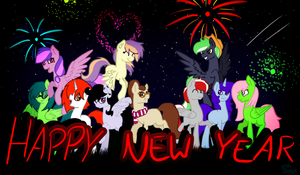 Happy New Year! by Cloud-Drawings