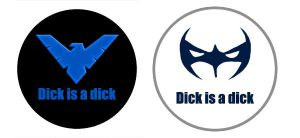 o Dick is a Dick :: Buttons o by khiro