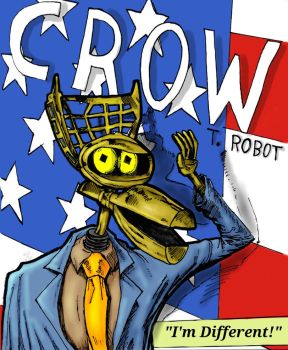 Crow T Robot a Different Choice by sagejester