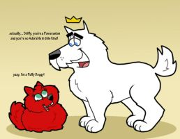 FOP: Jorgen and Stiffy (in Dogs from) by Cookie-Lovey