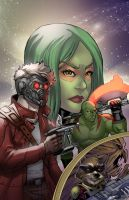 Guardians of the Galaxy by wansworld