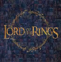Lord of the Rings Mosaic by DarienRachelle27