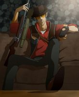 TF2 Sniper by doubleleaf