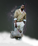 Kanye West by Aecoon