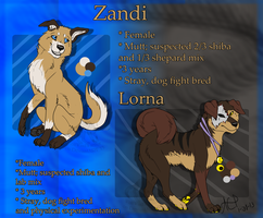 Zandi and Lorna Ref by Silverfang-Alchemist