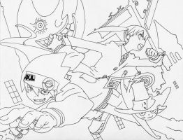 Soul Eater - Lineart by lamoco-13