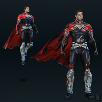 Injustice: Gods Among Us - Superman (godfall) by Sticklove