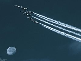 Fly me to the moon... by Kaslito