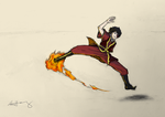 Zuko, about to rip someone a new one by KCHuang