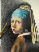 Girl With a Pearl Earring 2 by MaryCloe