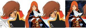 Tutorial Step By Step Harlock Esmeralda by ECVcm