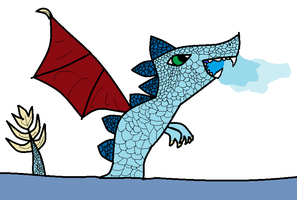 water dragon by Animallover08