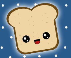 Kawaii Toast by tsuuChan